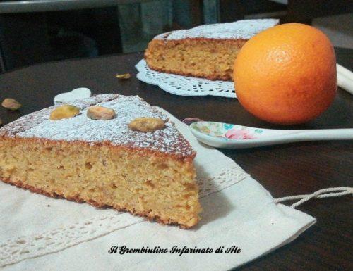 Pan di arancia al kamut con pistacchi