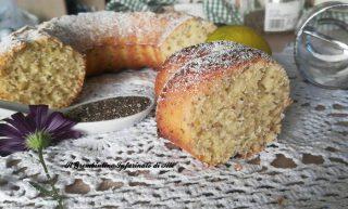 Ciambella al lime e semi di chia