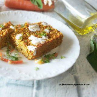 Sformatini di carote e nocciole
