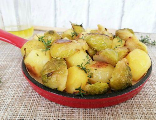 Cavolini al forno con patate novelle