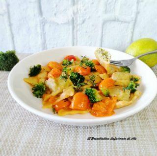 Ravioli con broccoletti ricotta e noci