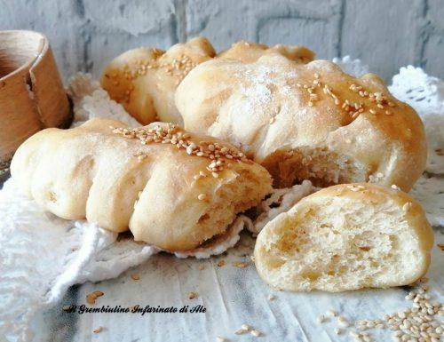 Spighe di pane con lievito madre