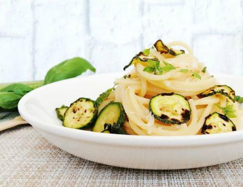 Spaghetti con le zucchine alla Nerano