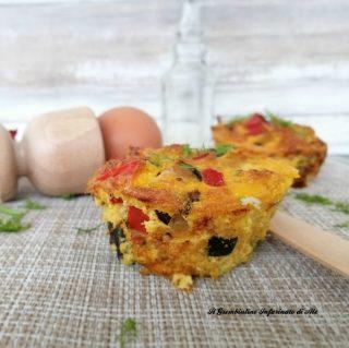 Frittatine muffin alle verdure