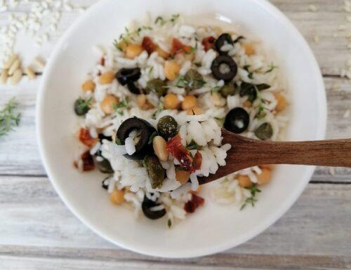 Insalata di riso alla mediterranea