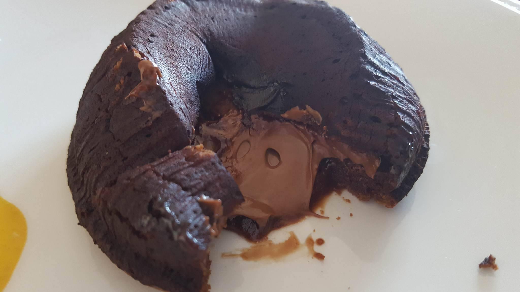 Tortino Fondente con Cuore caldo cremoso alla Nutella
