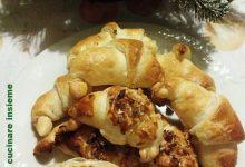 Cornetti salati con prosciutto cotto e formaggio