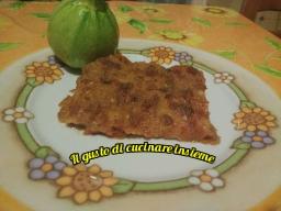 Sformato di zucchine e prosciutto cotto