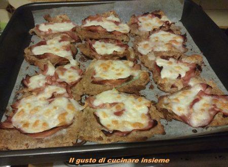 Fettine panate con prosciutto cotto e mozzarella
