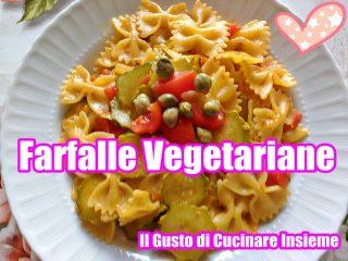 farfalle vegetariane