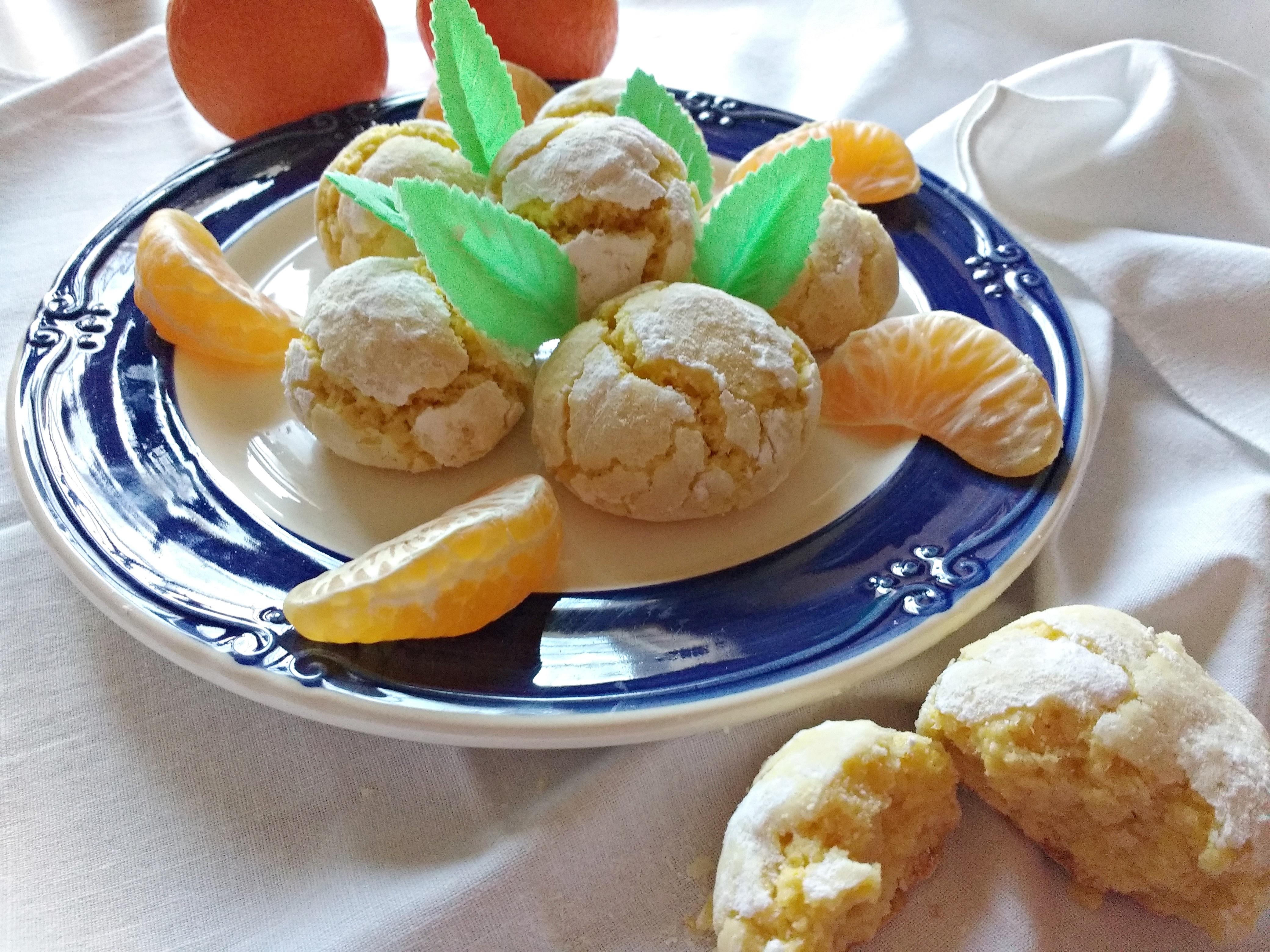 biscotti profumati alle clementine