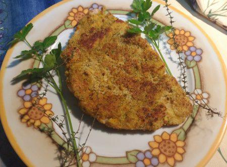Pesce persico impanato alle erbe aromatiche