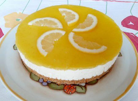 Cheesecake estiva al limone