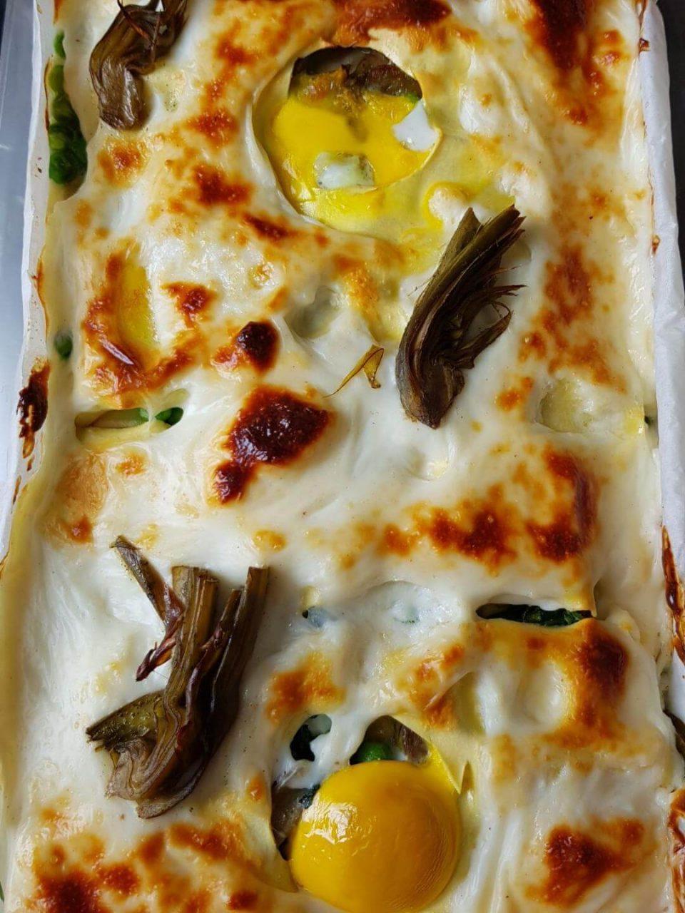 lasagne-verdure-uova-vegetarian-lasagna