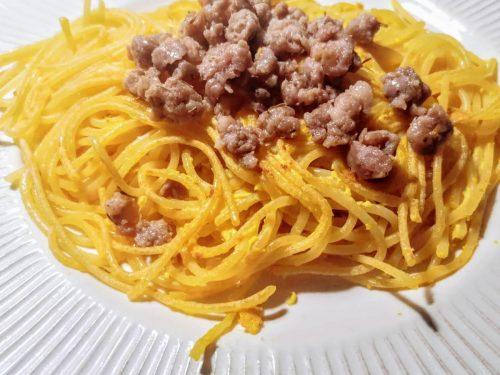 Schiacciatine di spaghetti al timo
