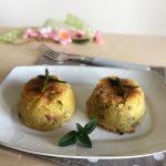 Tortino di patate asparagi e pancetta - antipasto sfizioso