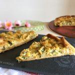 Torta salata zucchine e salmone