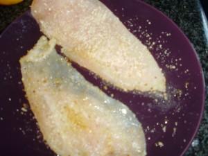 Panatura del pollo