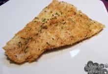 Persico panato con cipollina