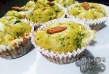 Muffin con verdure mandorle Yogurt greco