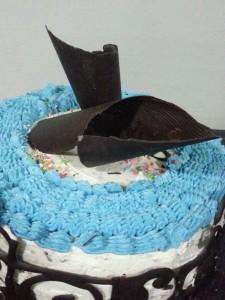 torta con crema al burro