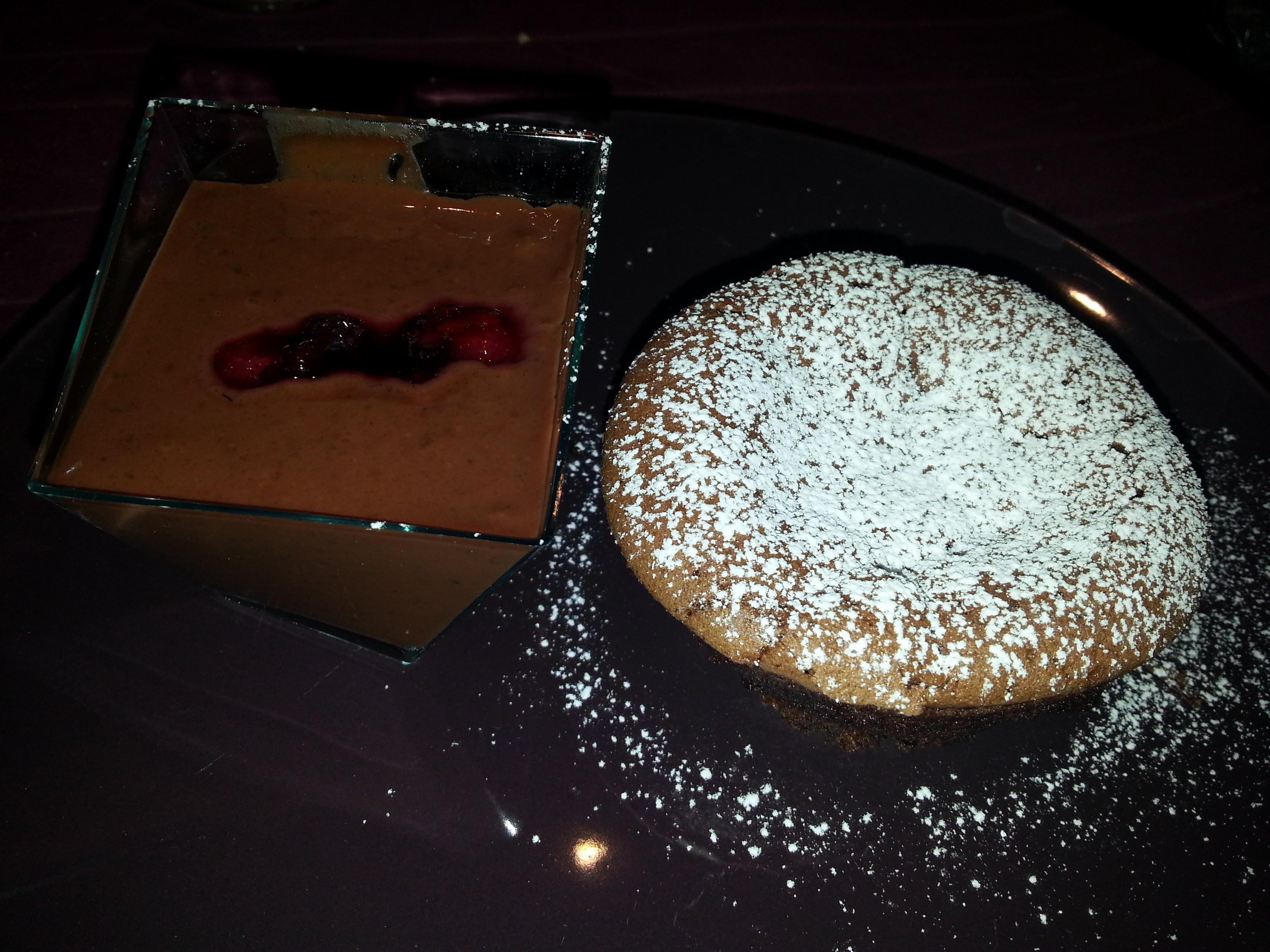 Minicake con cuore morbido al cioccolato