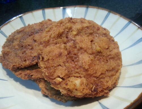 Biscotti con il burro di arachidi