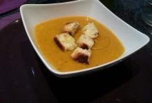 Crema di zucca, zucchine e patate