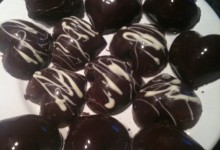 Cioccolatini con ganache al cioccolato bianco