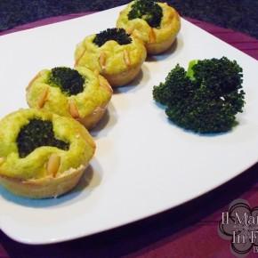 Muffin ai broccoli e yogurt