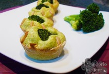 Muffin ai broccoli e yogurt