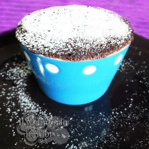 Cup cake in tazza