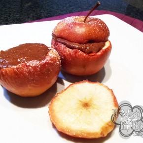 Mela cotta con crema al cioccolato e mele