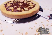 Crostata di farro alle pere cioccolato e albicocca