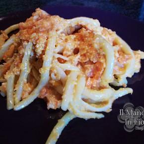 Maccheroni al sugo di carote