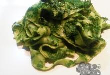Pappardelle alla crema di spinaci