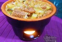 Minestrone zucchine farro e fagioli