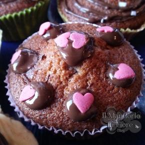 Cupcake al doppio cioccolato