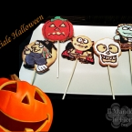 Biscotti di Halloween all'arancia