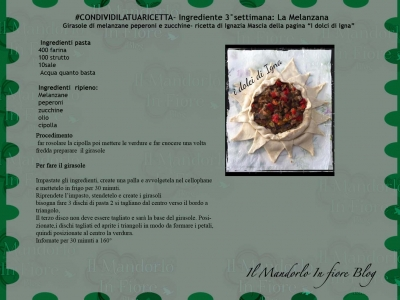 Ignazia Mascia Girasoli di melanzana peperoni