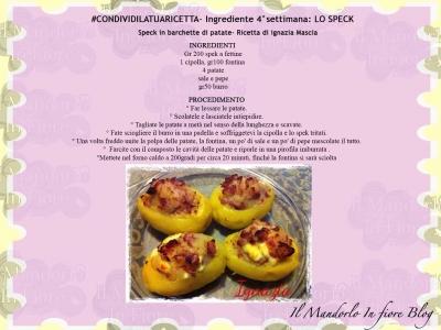 Condividi la tua ricetta 4° settimana Lo SpeckCondividi la tua ricetta 4° settimana Lo Speck