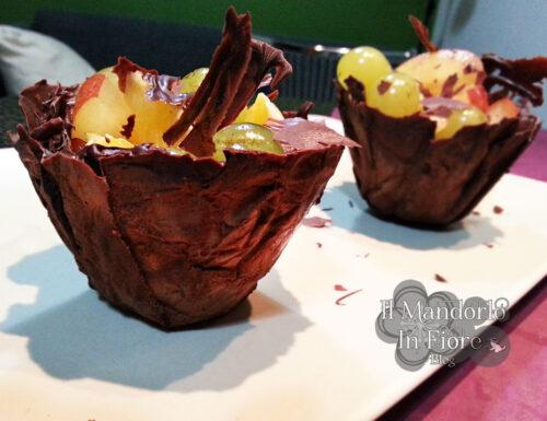 Cestini di cioccolata