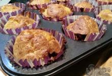 Muffin salati alla zucca gorgonzola e mascarpone