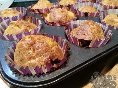 muffin alla zucca mascarpone e speck