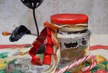 Preparato per biscotti in barattolo