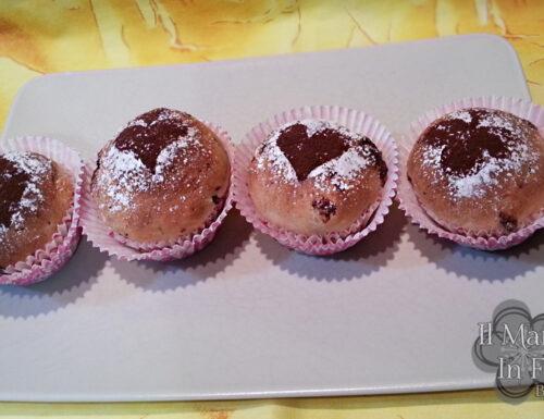 Cupcake di brioche arancia e cacao