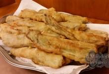 Cardi in pastella e fritti