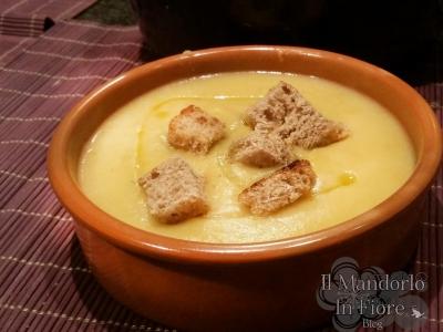 Zuppa di porri e patate