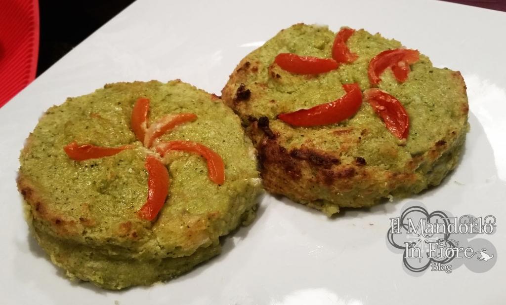 Tortini zucchine e ricotta