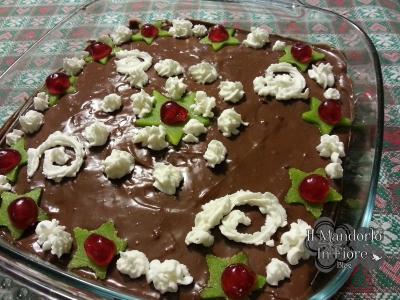 sformato dolce agli amaretti e cioccolato3